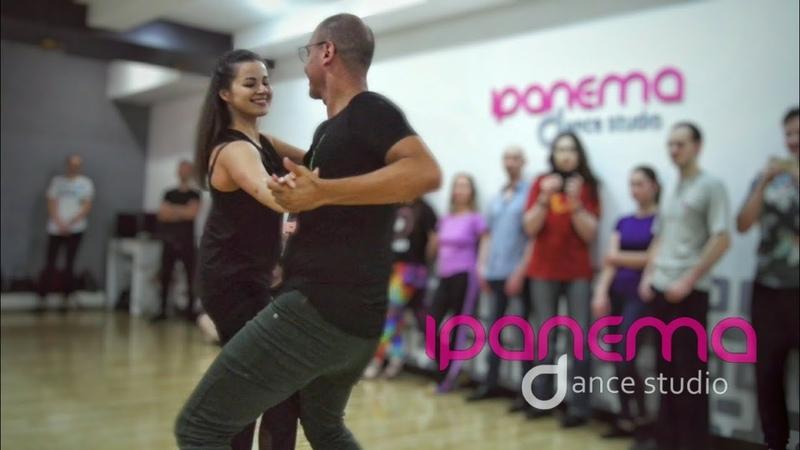 João Paulo Jota and Che. Zouk demo. Ipanema Dance Studio. (Clichê)