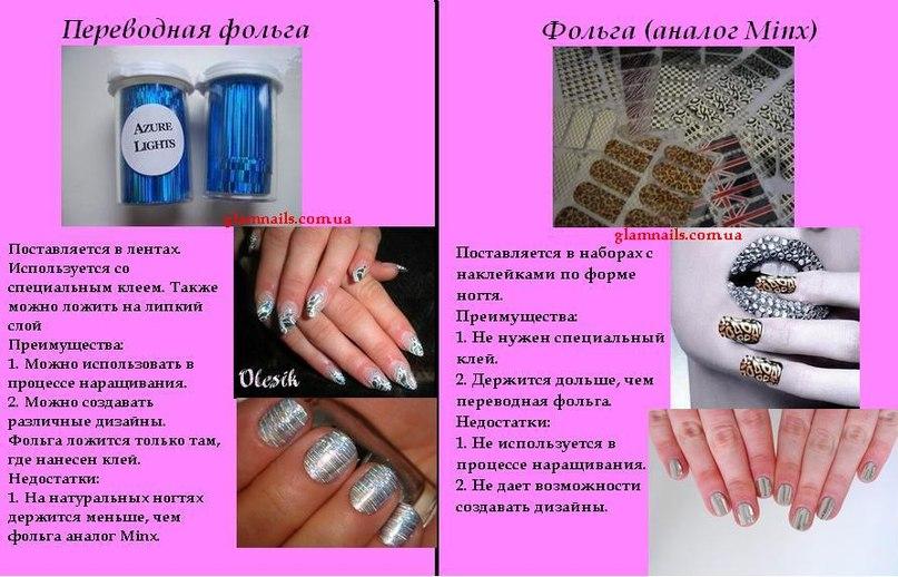 фольга переводная для ногтей инструкция - фото 7