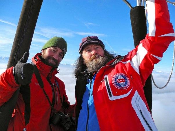 Федор Конюхов расскажет тюменцам о полете вокруг Земли на воздушном шаре.