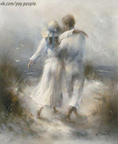 """Они рядом сидели, обнявшись любя. Она тихо спросила: """"Что я для тебя?"""" Немножко подумав, с мечтами в глазах, Он стал вспоминать, оглянувшись назад. """"Когда ты со мной, забывается боль. Все беды и страхи теряют их роль. Когда ты со мной, улетают часы. Я рядом с тобой вижу светлые сны. Когда ты со мной, я - не одинок. Твой голос и взгляд не раз мне помог. Когда ты со мной, я тот, кто я есть. Ты все недостатки смогла перенесть..."""" Он к ней повернулся и понял как раз, Что ей и…"""