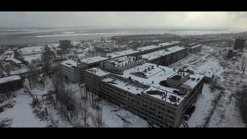 Сталинград 2016... Волгоградский тракторный завод - аэровидеосъёмка.mp4