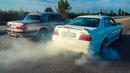 Сельская ВОЛГА шокировала BMW 5 E60 TOYOTA CHASER и LEXUS IS на 1 JZ