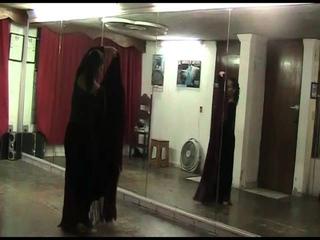 Ejercicio 5 Movimiento de manton en baile flamenco (Tecnica)