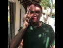 Via transmissão de celular, Bolsonaro fala com população na Av. Paulista.