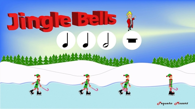 Jingle Bells   Kids Christmas Songs   Rhythm practice   Lectura rítmica