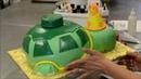 Украшение тортов | Как украсить торт в виде черепахи