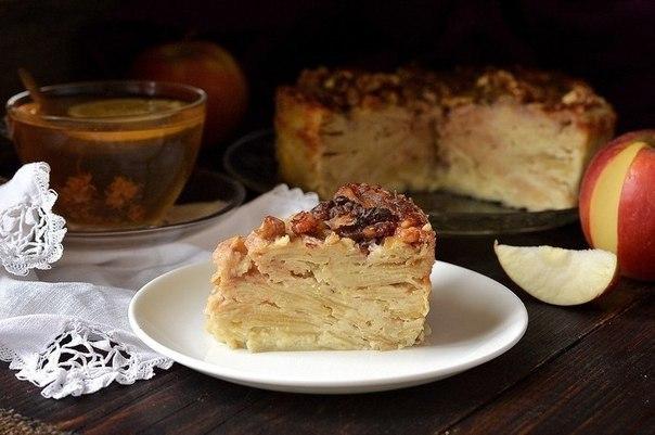«Невидимый» яблочный пирог. Невидимый яблочный пирог получил свое