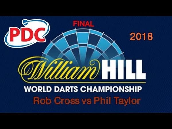 2018 PDC World Darts Championship. Rob Cross vs Phil Taylor. Final