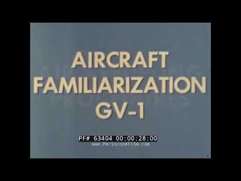 LOCKHEED MARTIN KC-130 TANKER GV-1 AIR REFUELING PROCEDURES F-8 CRUSADER 63404