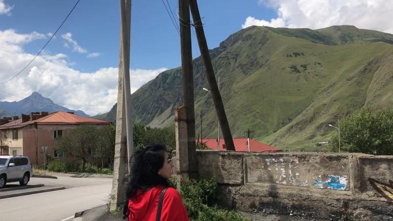 Грузия, Казбеги 🇬🇪 Регина блогер