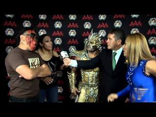 Faby Apache y Drago - Lucha Libre AAA - 2013