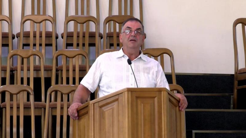 Проповедь (Евр.12.14) - гость брат Михаил Полтавец