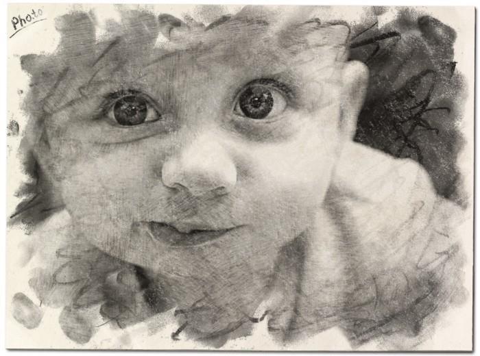 фотоэффект рисунок карандашом: