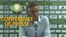 Conférence de presse Red Star FC Chamois Niortais 27 07 2018