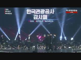 BTS for winning AAA Korean Tourism Appreciation Award
