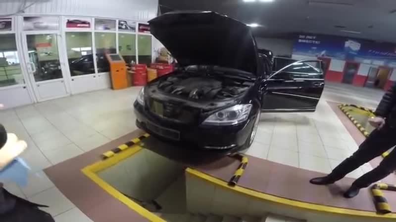 Проверка перед продажей! W221 S500 4matic 2011г!