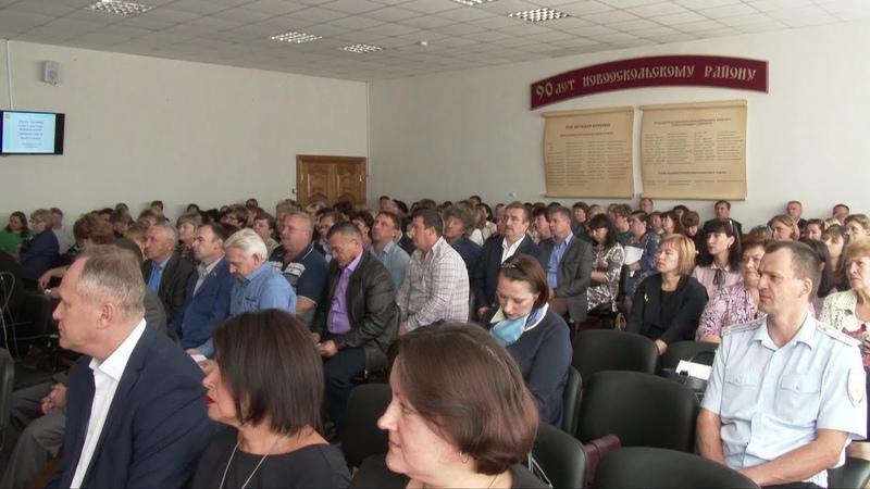 В Новом Осколе прошло заседание Совета депутатов Новооскольского городского округа 1-го созыва