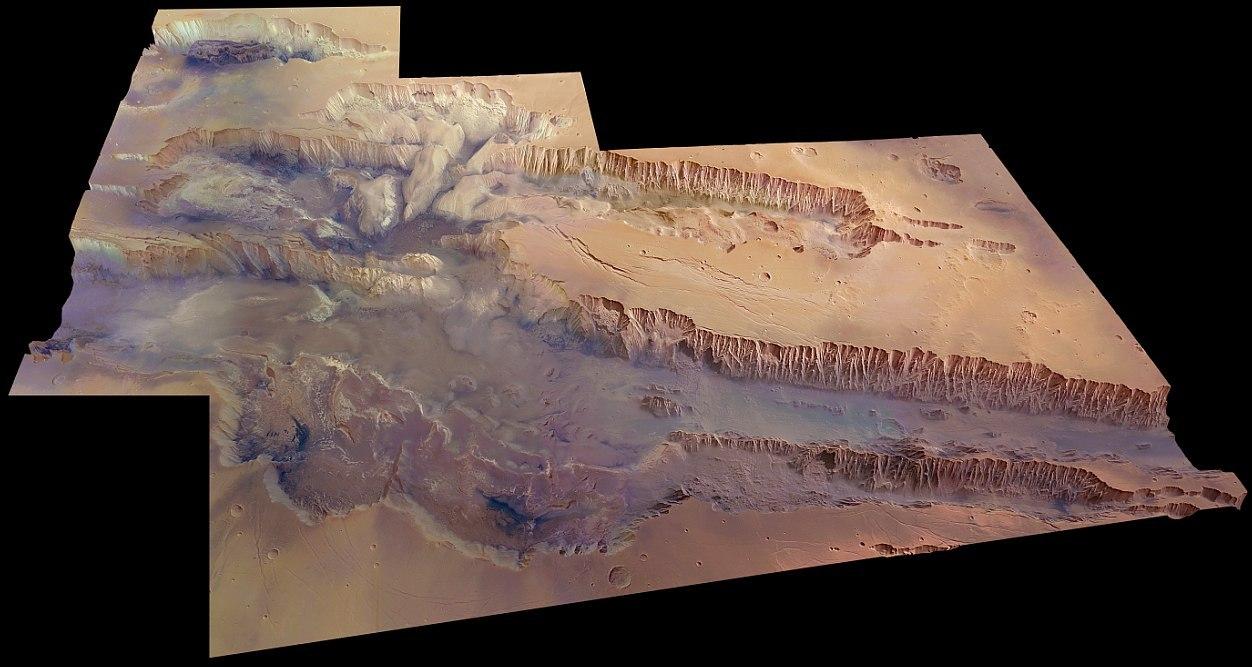 долина Маринера на Марсе