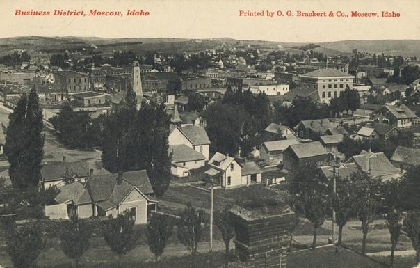 Б. Акунин. Сборник «Нефритовые чётки», повесть «Долина мечты» «США страна Московия». Москоу (Айдахо).В Америке есть восемь городов, именуемых Москоу, которые являются достаточно крупными для