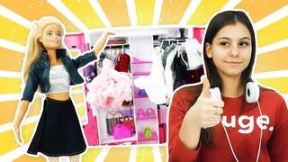 Кукла Барби - фэшн блоггер! Видео для девочек - куклы Барби