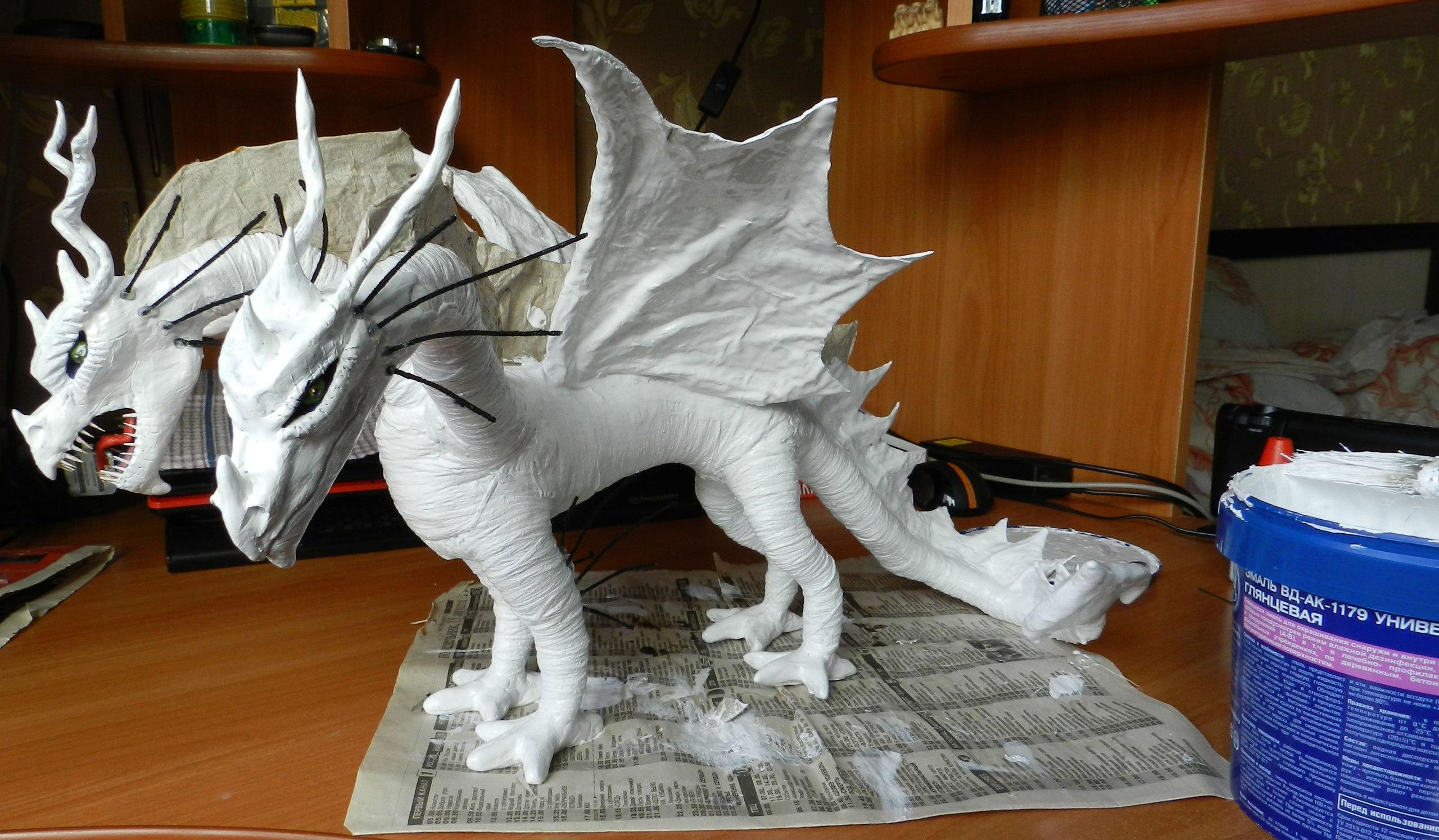 Дракон сделанный своими руками 40