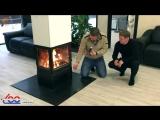 Отопление каркасного дома. Недорогой камин от 60 000 - 100 000 рублей