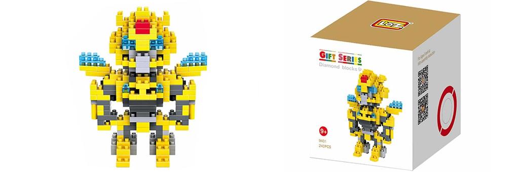 "Конструктор LOZ Diamond Block Gift Series ""Бамблби"" 9401"
