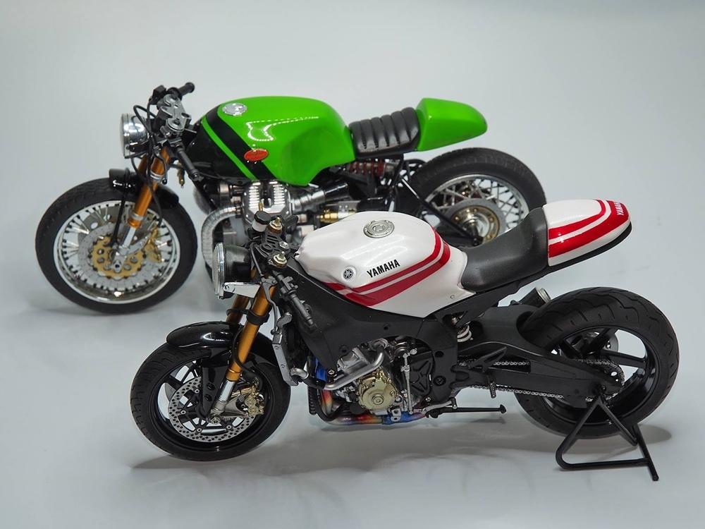 TT Scale Model: модельки мотоциклов 1/12