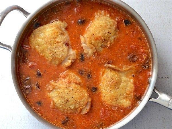 Окорочка запеченные в духовке с рисом 4 куриных
