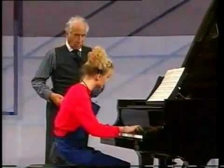 Victor Borge, Anna Buchenhorst and J.Kallhed playing Chopin