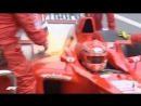 2003 Austrian Grand Prix Ferrari's fiery pit stop