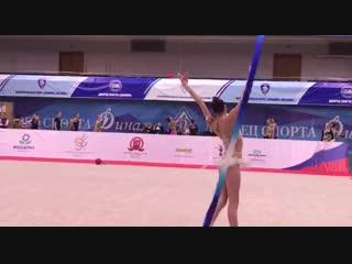 Дарья Трубникова - лента // Первенство Москвы 2019
