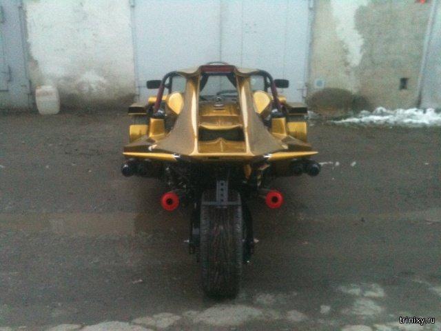 Житель Челябинска сделал спорттрайк по фотографиям