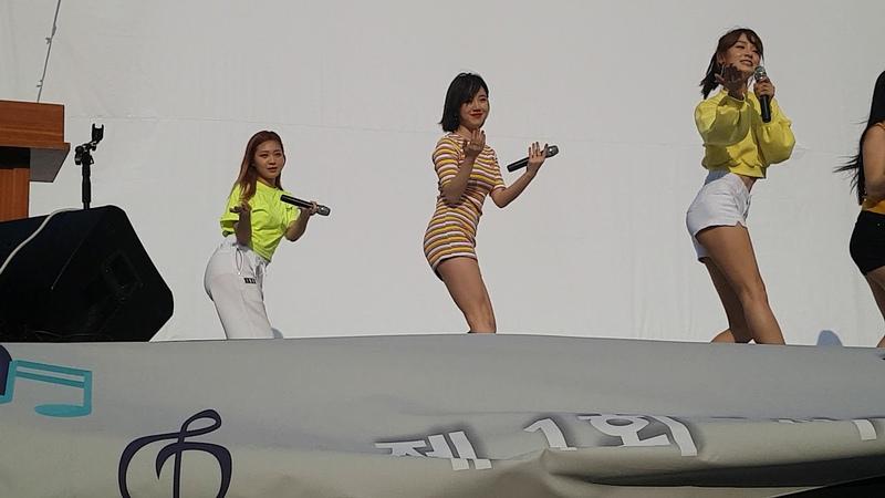 [4K] 180526 서울역광장 제1회서울역사람을위한희망문화콘서트 얼라이크 우아하게 [직캠/FANCAM]