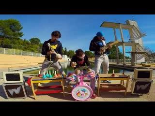 Nirvana smells like teen spirit на детских инструментах