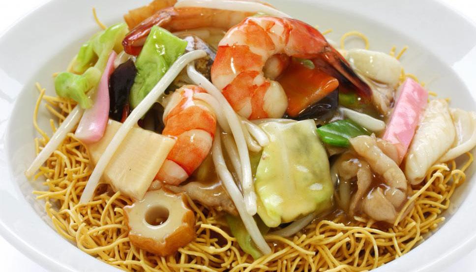 Chop Suey - популярная китайская еда на вынос.