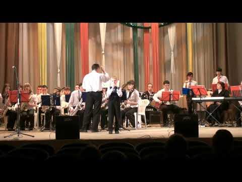 Биг бенд Euro Youth Смирнов Миша Новоуральск Песенка мамонтёнка 02 03 2009 г