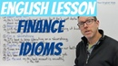 🇦🇺 English lesson Finance idioms ➖💲 about being poor