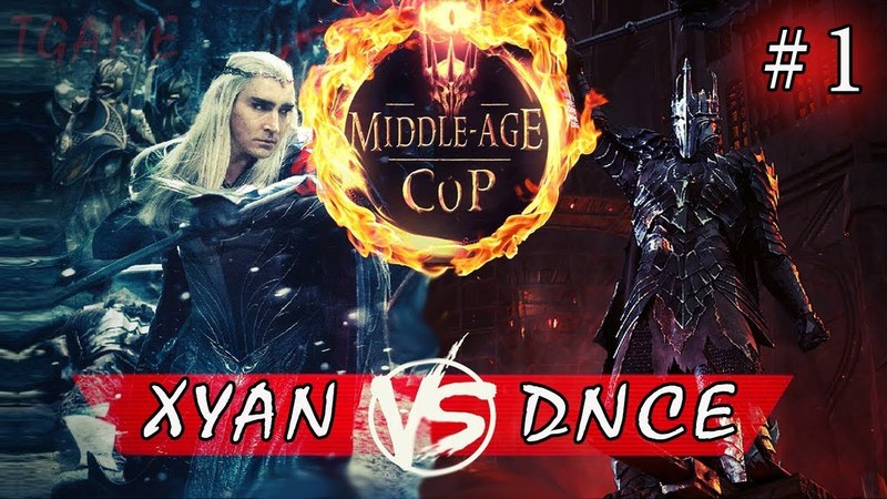 LOTR BFME - [MIDDLE AGE CUP] Этап 1. Группа B - PRO. Xyan Pedro VS DNCE [GAME 1]