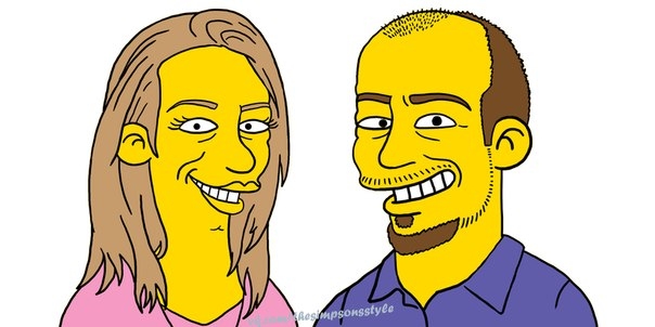 аватарки для контакта симпсоны: