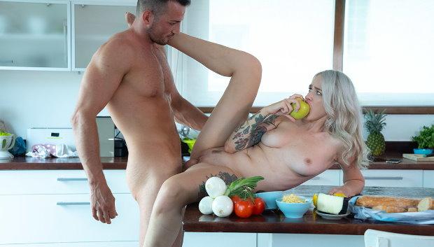 DaneJones - Super hot Russian fucks her trainer