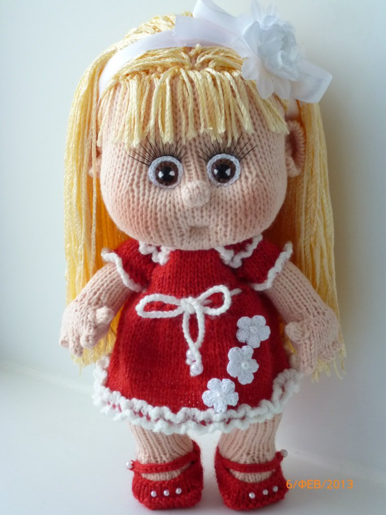 Вязаных кукол своими руками