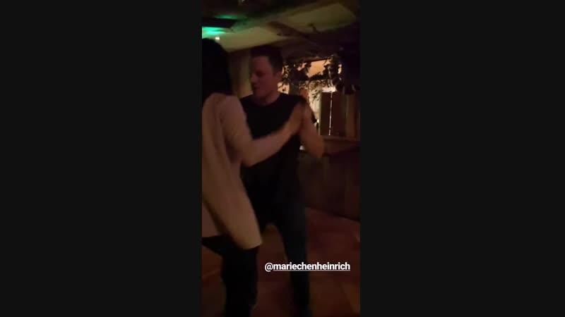 Танец Лукаса Фрацшера и Мари Хайнрих (декабрь 2018)