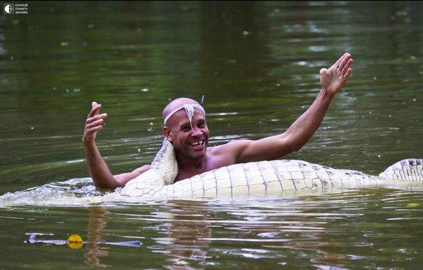 крокодил и рыбак чито