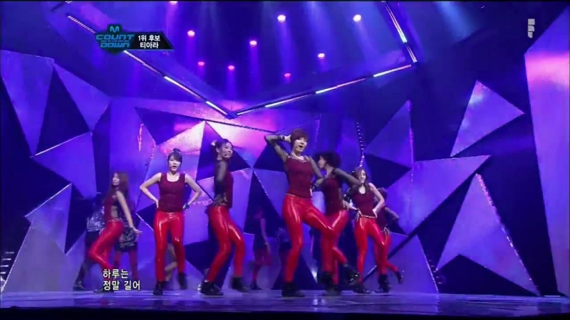 120112 Mnet M!Countdown - T-ARA - Lovey-Dovey