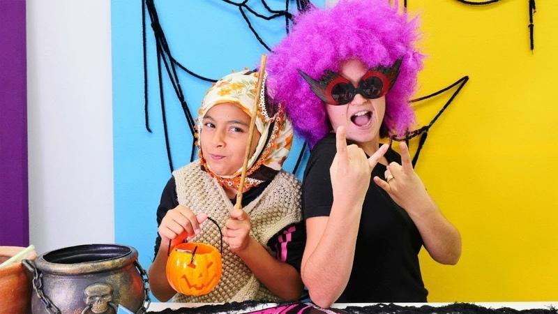 Reyhan abla ve cadı Emily ile komik video!