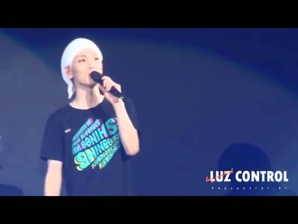 [Fancam] Onkey Moment 'Onew's stare makes Key nervous' .mp4