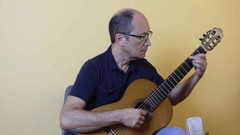 One more year: ULISSES ROCHA - classical guitar from Brazil
