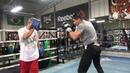 Lindolfo delgado on mitts with robert garcia EsNews Boxing