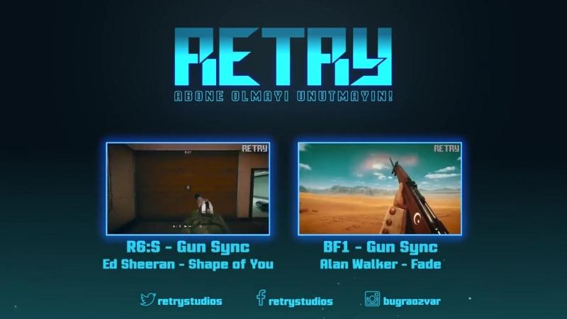 Rainbow Six- Siege - Gun Sync - Coldplay - Something Just Like This (No Riddim Remix)